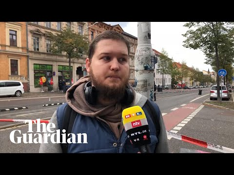 Halle: Eyewitness describes shooting in Germany