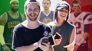 Europeans Try to Name American Superstar Athletes...THEY HAVE NO IDEA WHO LEBRON JAMES IS?!