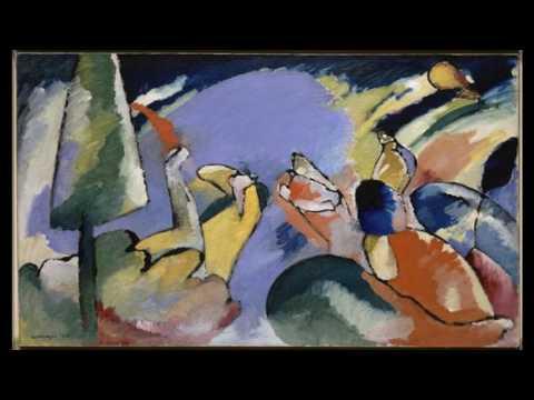 Wassily Kandinsky  瓦西里.康定斯基  (1866-1944)  Expressionism  Abstract Art  Russian French