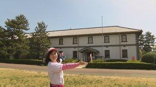 【仙台市歴史民俗資料館】 資料館のある榴岡公園、現在は桜の名所として...