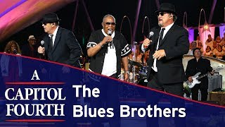 The Blues Brothers And Sam Moore Perform 34 Soul Man 34 On The 2017 A Capitol Fourth