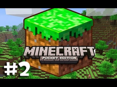 Minecraft: Pocket Edition (On iPad) w/ Ze - Part 2