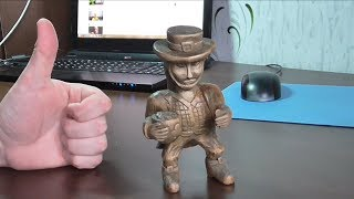 How To Make A Wood Carved Sculpture Of A Leprechaun