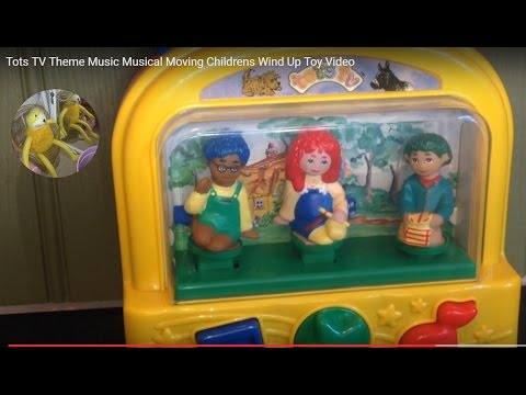 Tots TV Theme Music Musical Moving Childrens Wind Up Toy Video