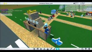 Roblox : Theme park tycoon : Gameplay 4