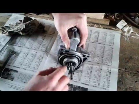 Медленно крутит стартер  ВАЗ-2109,08 (часть 1)