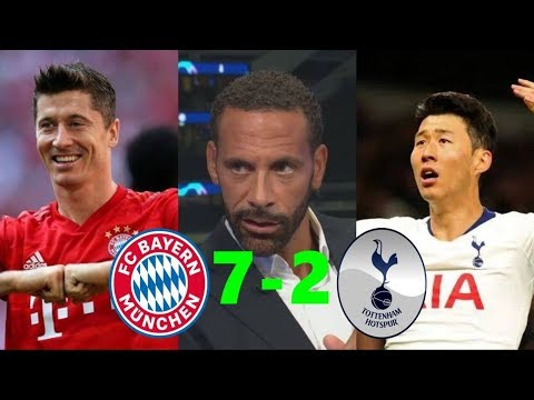 Tottenham vs Bayern Munich 2-7 Post Match Analysis; S. Gnabry Poker Goals & Rio Ferdinal REACTION
