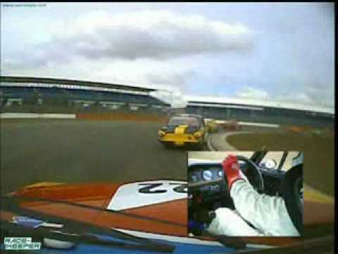 Silverstone Classic Touring Cars  PHTC from William Jenkins BMW CSL Part 1.wmv