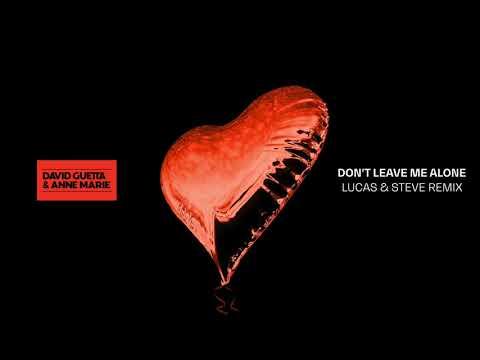 David Guetta Ft Anne-Marie - Don't Leave Me Alone (Lucas & Steve Remix)