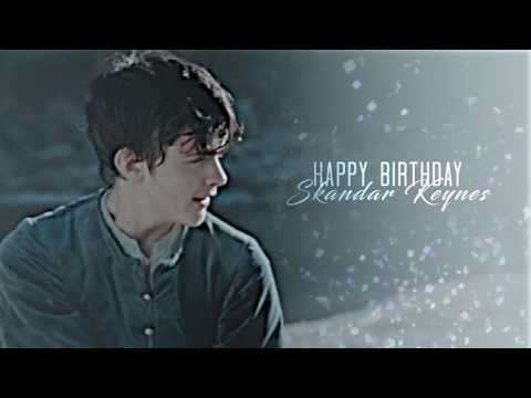 Happy 26th Birthday Skandar Keynes
