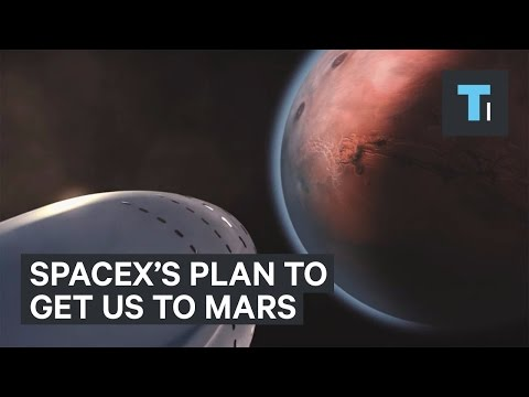 SpaceX unveiled its amazing plan to get us to Mars