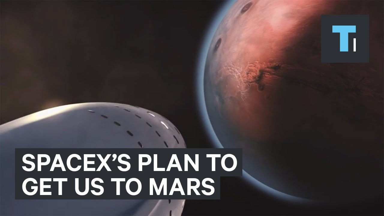 SpaceX's Amazing Plan To Get Us To Mars