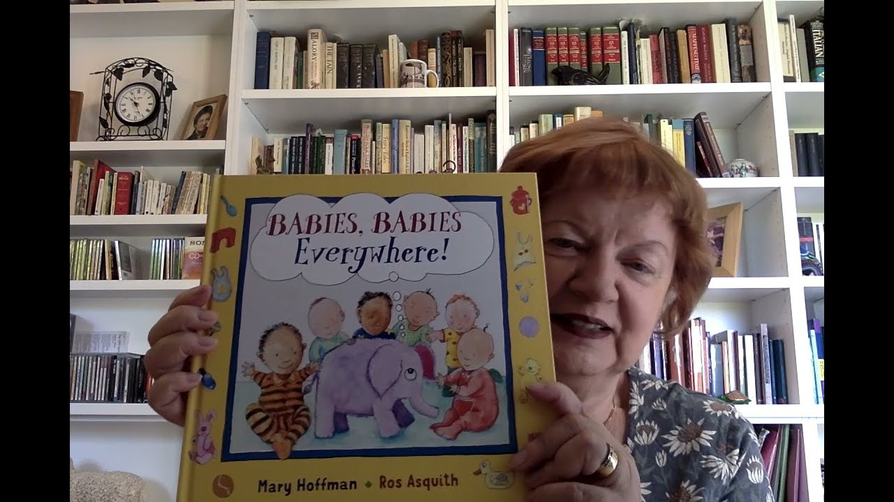 Mary Hoffman reads from Babies, Babies Everywhere!