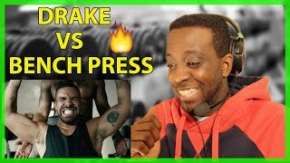 Drake Vs Bench press apple commercial reaction and crazy new photoshop for voices! 😱
