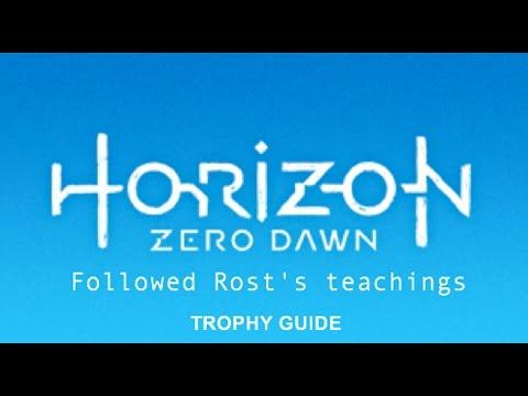 Horizon Zero Dawn PS4 Trophy Guide: Followed Rost's teachings