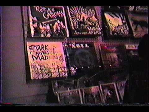 Stark Raving Mad - Caberet Voltaire - Houston Tx, 1985.avi