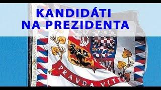 Tomio Okamura: Kandidáti na prezidenta