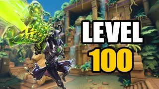 "Paladins - ""LEVEL 100 ANDROXUS"" Competitive Gameplay"