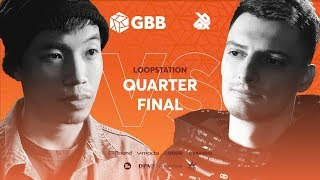 THAI SON vs INKIE | Grand Beatbox Battle 2019 | LOOPSTATION 1/4 Final