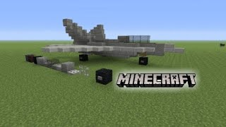 Minecraft F 22 Raptor Tutorial