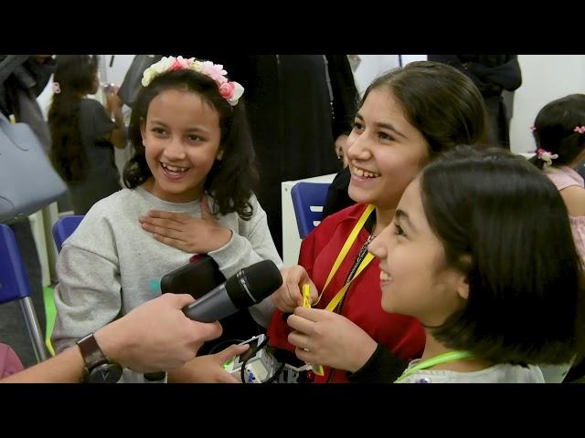روبوت وادي مكة  و مدرسة بشائر الابداع