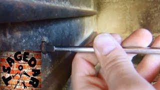 Uchycení grilovací jehly a motorku / how it works the grill motor