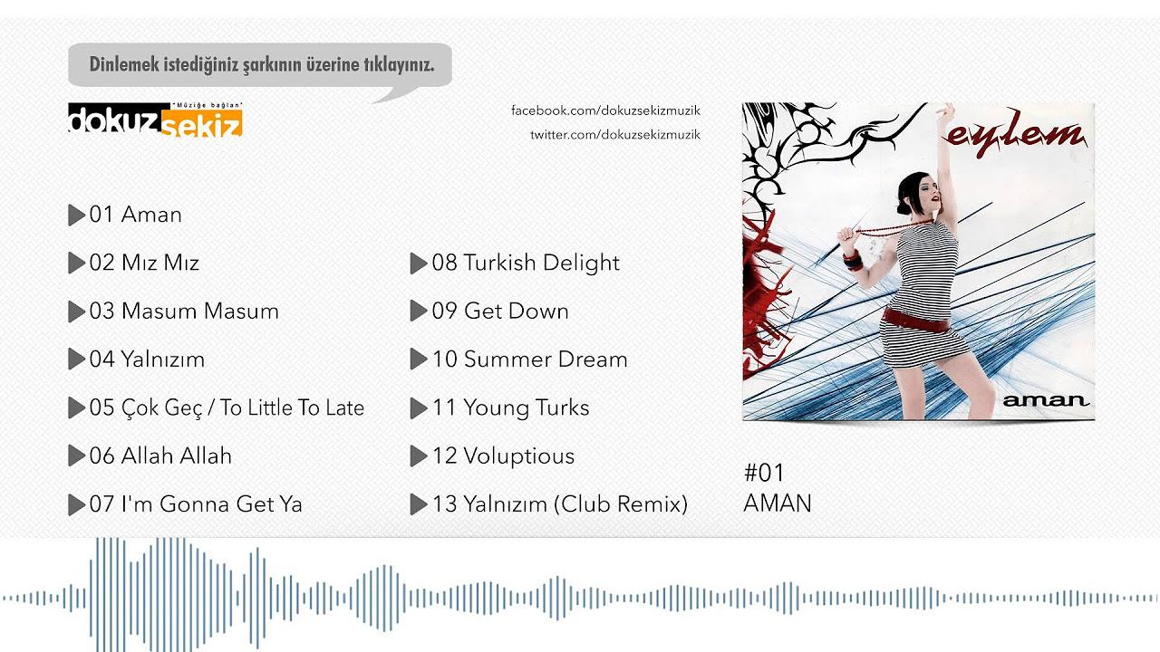 Eylem - Aman (Official Audio)