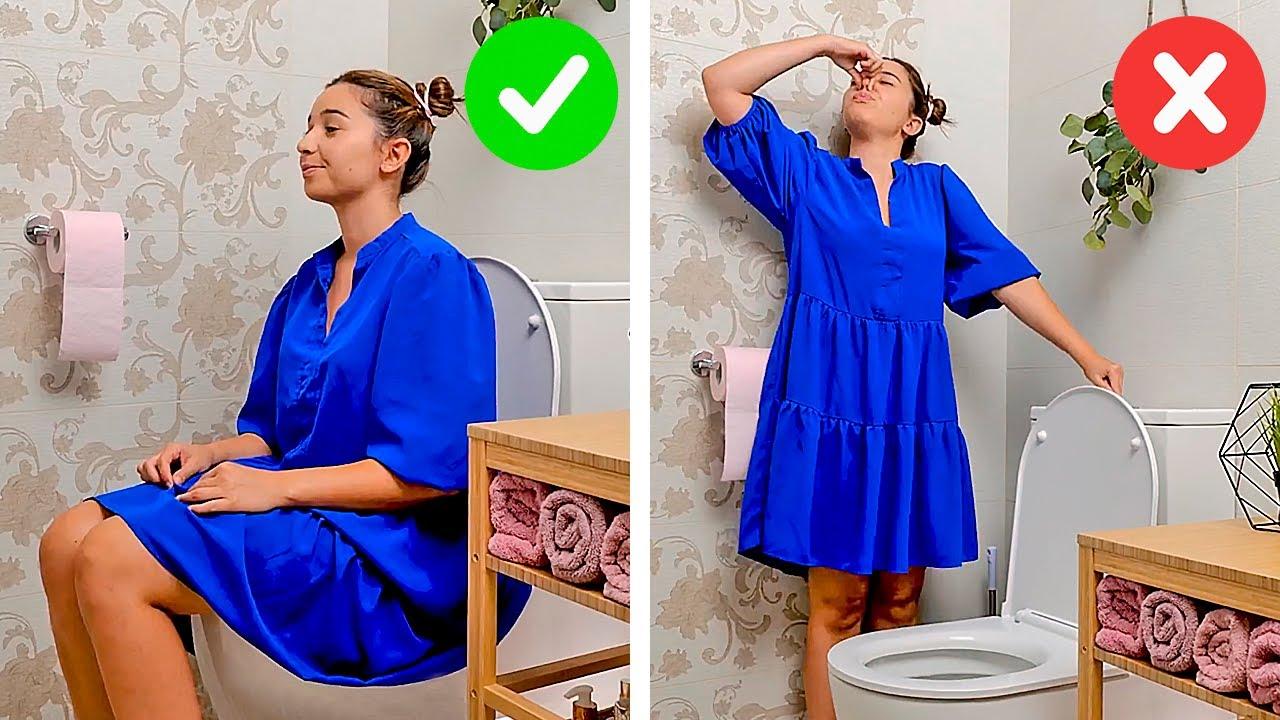 RESTROOM SURVIVAL GUIDE || Bathroom Gadgets and Appliances