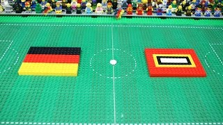 Germany vs Legoland - first halftime