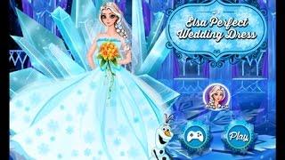 Эльза Игры—Красивая Дисней Принцесса Эльза Невеста—Онлайн Видео Игры Для Девочек 2015 Мультик