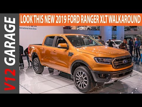 LOOK THIS NEW 2019 Ford Ranger XLT Walkaround