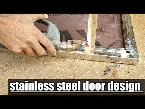 Stainless Steel Front Door Design | Steel Security Door | Ss Door Design