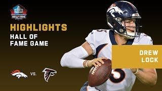Every Drew Lock Throw & Run in NFL Debut | 2019 Highlights