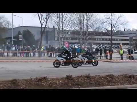 Kuopio MP näyttelyn stunt show 2017