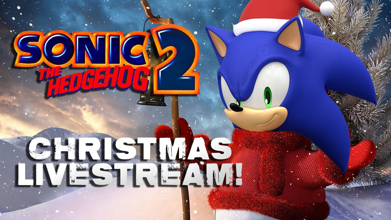 sonic 2 christmas edition livestream - Sonic Hours Christmas Day