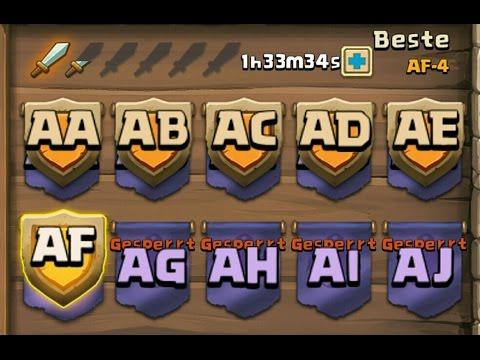 Castle Clash - HBM AF Wave 1 To 5