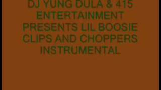 Lil Boosie- Clips and Choppers Instrumental