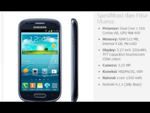 Harga HP: SAMSUNG Galaxy SIII Mini I8910