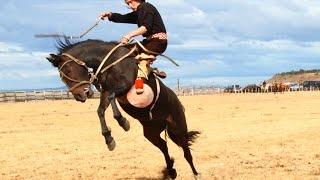 JINETEADA EN AGUA FRESCA PUNTA ARENAS 2015