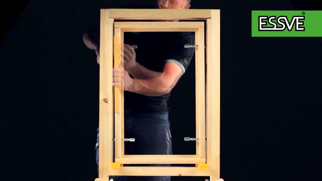 Karmskruer til vinduer