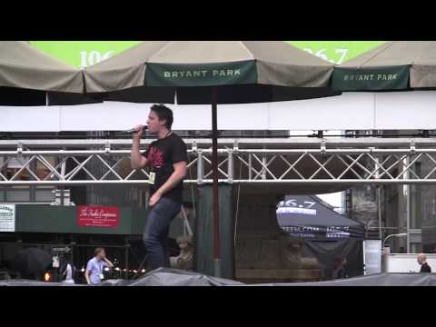 Kinky Boots in the Park 8/1/13 - SOUND CHECK