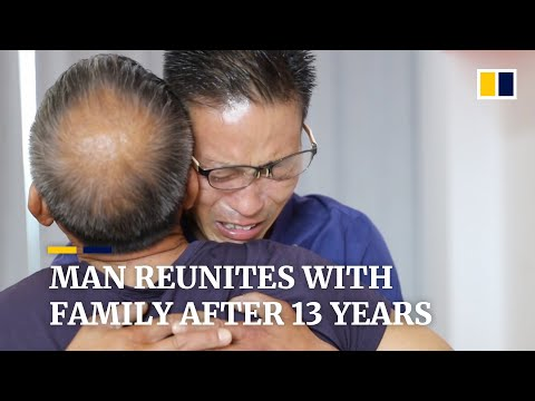Man in China finally finds his family after 13 years