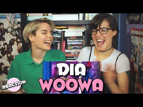 DIA 다이아 - WOOWA 우와 ★ MV REACTION