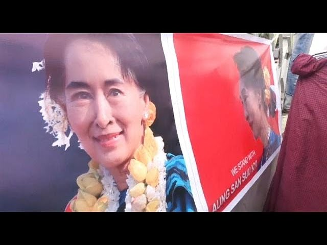 Aung San Suu Kyi addresses Rohingya crisis in Myanmar, saying she does not fear global 'scrutiny'
