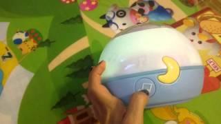 Видео обзор Ночник chicco first dreams