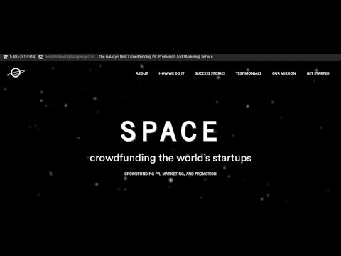 Spacedigital agency. A Kickstarter and Indiegogo Marketing Scam. Full review.