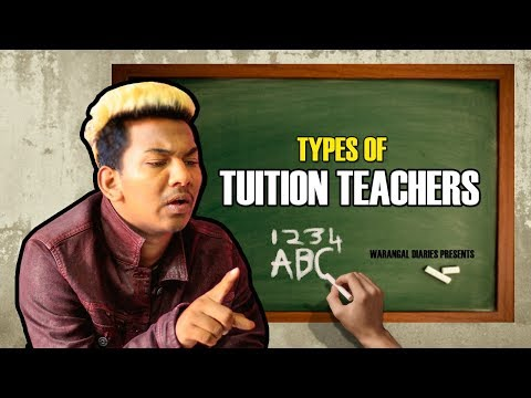 Types Of Tuition Teachers | Hyderabadi Comedy | Warangal Diaries