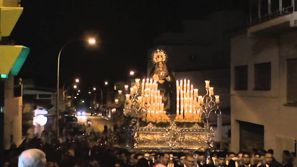 Nuestra se ora de los dolores puerto de la torre 2014 subida calle lara casta eda youtube - Puerto de la torre ...