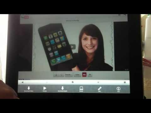 ProTube auf  dem iPad