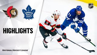Ottawa Senators vs Toronto Maple Leafs | Feb.18, 2021 | Game Highlights | NHL 2021 | Обзор матча